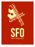 Sfo San Francisco Poster 2
