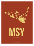 Msy New Orleans Poster 1