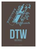 Dtw Detroit Poster 1