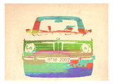 Bmw 2002 Front Watercolor 3
