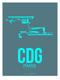 Cdg Paris Poster 1