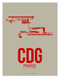 Cdg Paris Poster 2