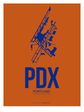 Pdx Portland Poster 1