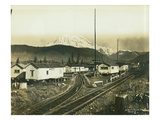 St Paul and Tacoma Labor Co Camp 5  ca 1908