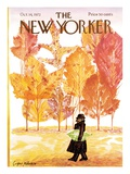 The New Yorker Cover - October 14  1972