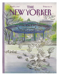 The New Yorker Cover - April 6  1987