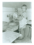 Washing Dishes (ca 1930)