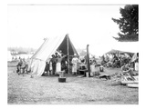 BCo Kitchen - National Guard of Washington  American Lake  1906