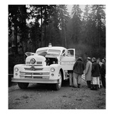 Lacey Fire Department Truck  1955
