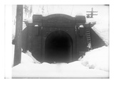 Cascade Tunnel  Near Stevens Pass  1910