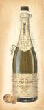Bubbly Champagne Bottle