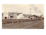 Roy  Pierce County  WA Northern Pacific Railway Station (ca 1890)