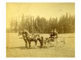 Isaac Ellis and Joe Rue (ca 1885)