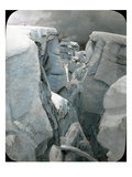 Crevasse at Mt Tacoma  1912