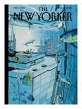 The New Yorker Cover - April 25  2005