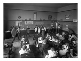 Students in Classroom  Seattle  1909