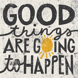 Good Things are Going to Happen Reproduction d'art par Michael Mullan