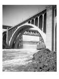 Monroe Street Bridge  Spokane River  Spokane  1916