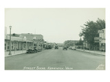 Street Scene Kennewick  Washington (ca 1945)