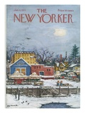 The New Yorker Cover - January 6  1973