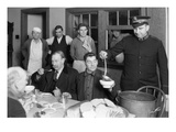 Mealtime at Salvation Army  1930