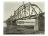 Northern Pacific Railway Railroad Bridge over the Columbia River at Pasco  WA