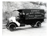 Covey Wet Wash Laundry Co Inc Delivery Truck  Seattle  1913