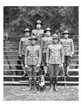 Veterinary Field Unit  346th Field Artillery  Camp Lewis  1918
