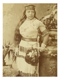 Paiute Native American Woman  ca 19th Century