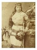 Paiute Native American Woman  ca 19th Century