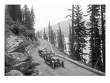 Sunset Highway  Snoqualmie Pass  1916