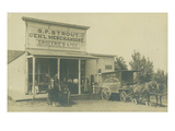 SP Strout Groceries Feed (ca 1905)