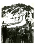 Milwaukee Road Ski Bowl  ca 1946