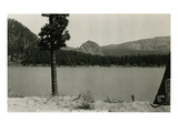 Kloochman Rock and Rimrock Lake  ca 1950