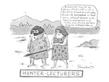 Hunter-Lecturers - New Yorker Cartoon