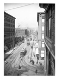 Pike Street from Second Avenue  Seattle  1908