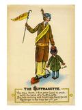 The Suffragette  ca 1909