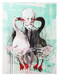 Tchaïkovski Reproduction d'art par Lora Zombie