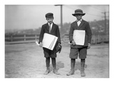 Newspaper Boys  Seattle  1913