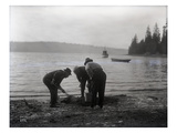 Clam Digging  1915