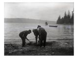 Clam Digging  1915