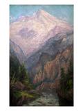 Mt Tacoma from Tahoma Fork  1915-1916