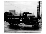 Pacific Coast Coal Company Delivery Truck  Tacoma  1918-1919