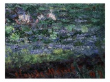 Monet's Signature  from Le Bassin Aux Nymphéas  Harmonie Verte  Waterlily Pool  Harmony in Green