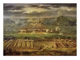 Siege of Besançon  France  by Louis Xiv in 1674 (Detail)
