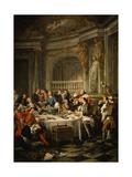 Le Déjeuner D'Huîtres (Oyster Dinner) 1735