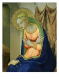 Virgin Mary  from Annunciation Altarpiece  1430-35 (Detail)
