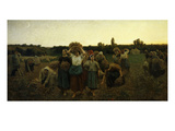 Le Rappel Des Glaneuses (Return of the Gleaners)  1859 (Mi 289)