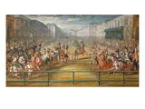 Le Pompeux Carrousel Des Galantes Amazones Des Quatre Parties Du Monde