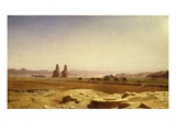 Plain of Thebes  Egypt  1857